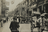 Chinese Funeral Procession  Hong Kong  from an Album of Photographs Relatin