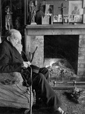 Portrait of Hilaire Belloc  at His House  King's Land  Shipley  West Sussex