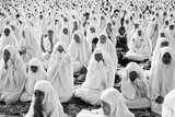 Women Praying in Front of the Sultan's Palace on Idul Fitri Day  1980