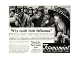 Advertisement for 'Formamint'  Pub in 'The Sphere' Magazine  1918