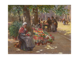 The Flower Seller  1912