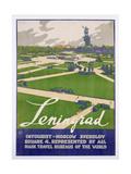 Poster Advertising Leningrad  c1930