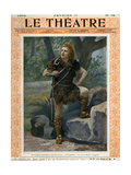 Jean de Reszke as Siegfried  Front Cover of 'Le Theatre' Magazine  1902