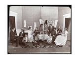 Mrs GG Haines  Dressing Room Tea Party  1902