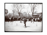 Boys Awaiting the Gun in a Race on Arbor Day  Tompkins Square Park  New York  1904
