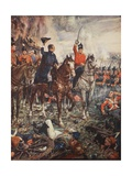 Waterloo  7pm  June 18th  1815  Illustration from 'A History of England' by CRL Fletcher and…