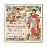 The Boaster  Illustration from 'Baby's Own Aesop'  Engraved and Printed by Edmund Evans  London …