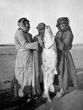 Civil Arabs with a Large Fish  1914-18