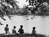 Bingham's Pond  1955