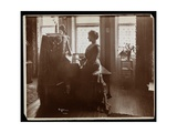 Portrait of Mrs Elliott or Her Female Relative Playing the Piano  1902
