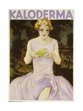 German Advertisement for 'Kaloderma' Soap  Printed by F Wolff Und Sohn  Karlsruhe  1929