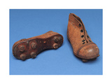Pair of Child's Boots  Size 7  1920s