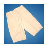 Cream Flannel Shorts  Early 20th Century