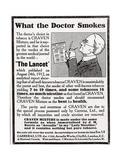 Advertisement for 'Craven Mixture Tobacco'  1910s