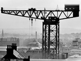 The Finnieston Crane at Stobcross Quay  1955