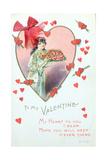 Valentine Card  1917