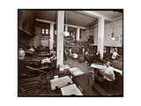 Men Working in the Printing Plant at Metropolitan Life Insurance Co at 23rd Street and Madison…