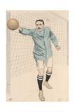 Cambridge University and Corinthian Goal Keeper