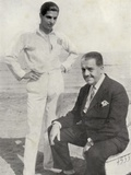 Serge Lifar and Sergei Pavlovich Diaghilev  from 'Footnotes to the Ballet'  Published 1938