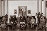 Mangkunegara IX with His Family