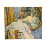Woman in a Mirror  1907