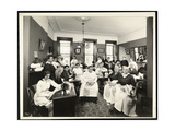 A Women's Sewing Circle at the Rodeph Sholom Sisterhood  157 East 94th Street  New York  1920