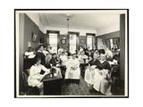 A Women's Sewing Circle at the Rodeph Sholom Sisterhood  157 East 94th Street  New York  1920