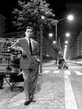 Pier Paolo Pasolini in Rome  July 1960