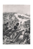 The Highlanders Turning the Captured French Guns on Brenniers Battalions  Illustration from…