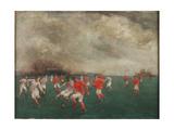 A Soccer Match  1920