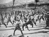Chinese Boxer Soldiers Drilling  1900