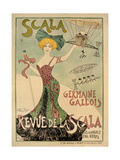 Revue de La Scala Poster  1901