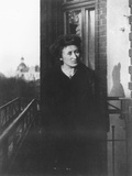 Rosa Luxemburg on a Balcony  1910