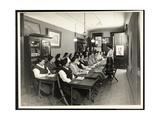 A Women's Americanization Class at the Rodeph Sholom Sisterhood  157 East 94th Street  New York …