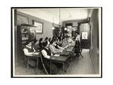 A Women's Americanization Class at the Rodeph Sholom Sisterhood  157 East 94th Street  New York …