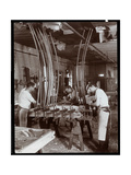 Men Working in a Piano Factory  1907