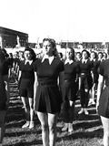 Students at the Academia Nazionale Di Educazione Fisica  Orvieto  1940