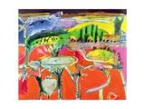 Landscape: Orvieto  1997