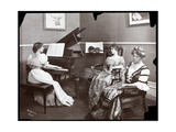 Piano Recital  New York  1907