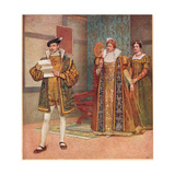 'Their are Some Shrewd Contents in Your Same Paper'  Illustration from 'The Merchant of Venice' …