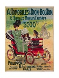 Advertisement for de Dion-Bouton Automobiles  c1900