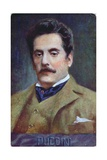 Postcard Portrait of Giacomo Puccini  c1910-15