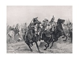 The Attack on Sir Ralph Abercrombie by the French Dragoons  Illustration from 'British Battles on…
