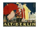 German Advertisement for a Christmas Fair in Berlin  Printed by Hollerbaum and Schmidt  Berlin …