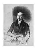 George Dawe (1781-1829) from 'The Life of Charles Lamb  Volume I' by EV Lucas  Published 1905