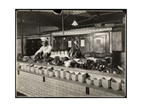 Display of Cold Meat in the Kitchen of the Commodore Hotel  1919