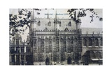 Postcard Depicting the Stadhuis at Bruges  c1912