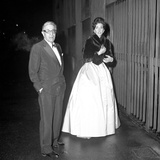 Aristotle Onassis and Maria Callas in Milan  Italy  1960