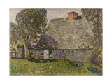 The Old Mulford House  East Hampton  1917