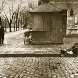 An Onlooker Observes a Dead Man Left in the Streets